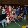 Gruppenbild mit dem Nikolaus
