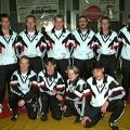 1. Mannschaft 2001:von links stehend: Wolfgang Klein; Ralf Moll; Markus Egner; Karlheinz Messer; Martin Engler; Udo Egner; Mar