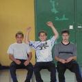 Oguz, Devran und Klaus