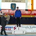 Klaus machte mit dem 1. Platz den Hattrick perfekt